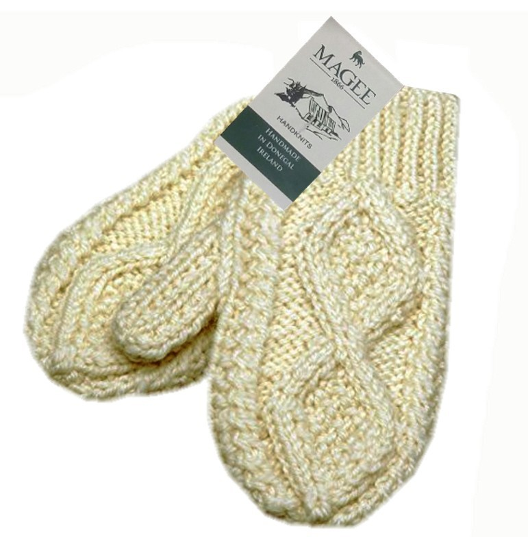 Children's Hand Knit Irish Wool Mittens