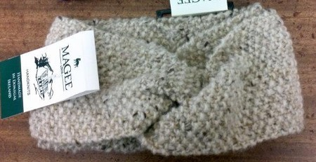 Magee Irish Wool Snood Neckwear in Oatmeal