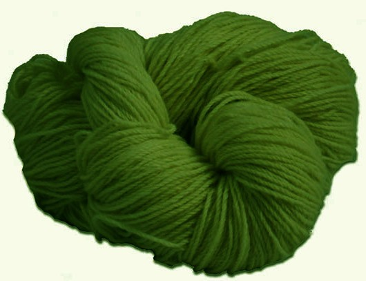 Aran Knitting Wool Linden Green