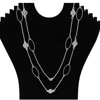 Long Celtic Elegance Necklace