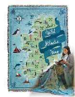 Irish Made Wild Atlantic Way Throw Blanket