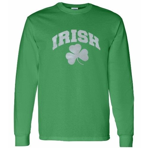 Irish Green Long Sleeve T Shirt