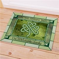 Personalized Celtic Floor Mat