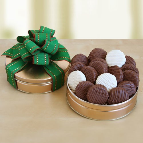 Chocolate Covered Cookies ~ A Delicious Gift
