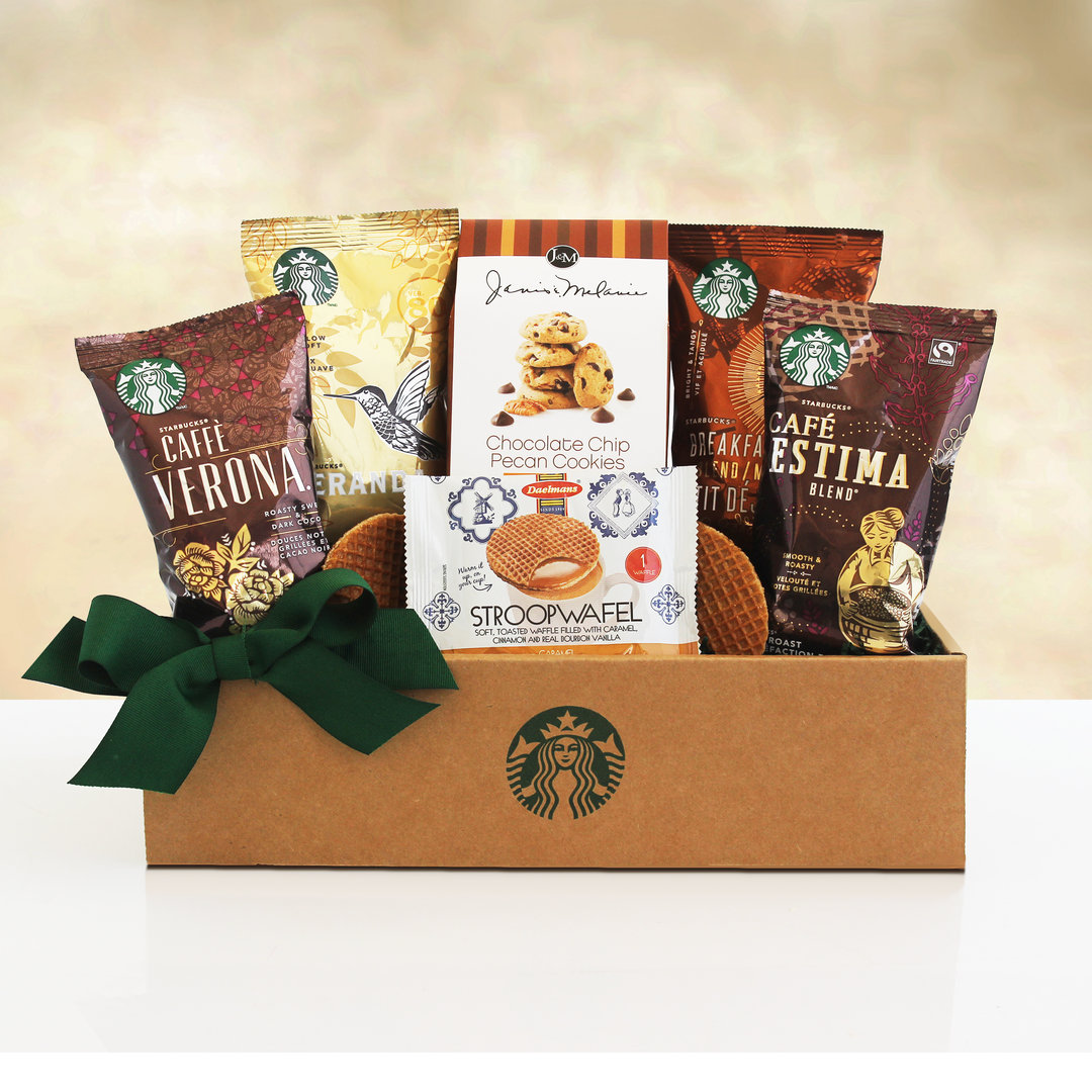 Coffee & Biscotti Gift Box ~ Starbucks