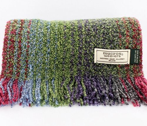 Irish Skellig Scarf Multi-Color - Wool & Cashmere
