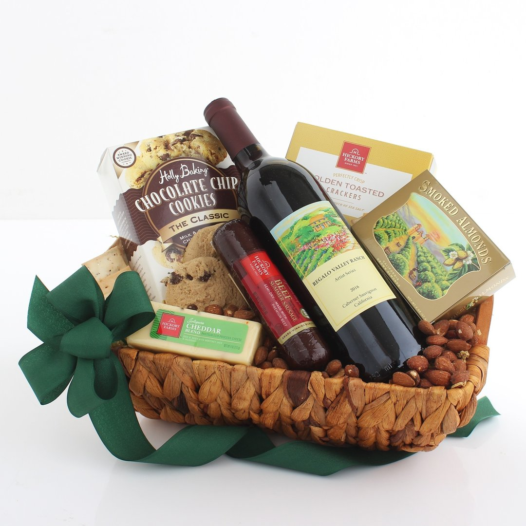 California White Wine Basket