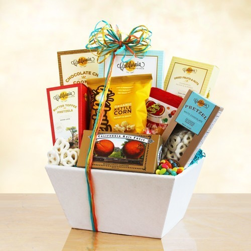 Delicious Snack Gift Basket