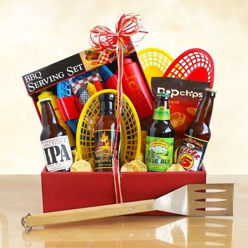 Barbeque and Beer Gift Basket