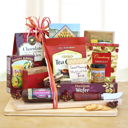 Deluxe Cheese Board & Snack Gift
