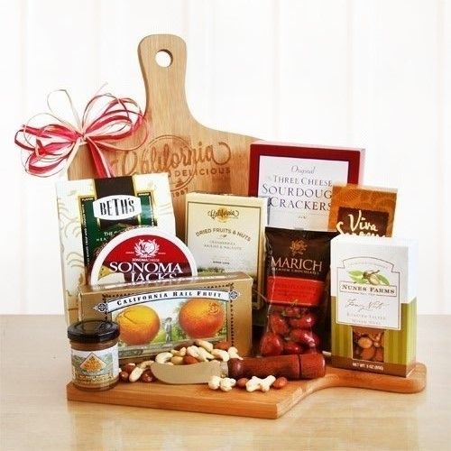 Cheese and Snacks Cheeseboard Gift