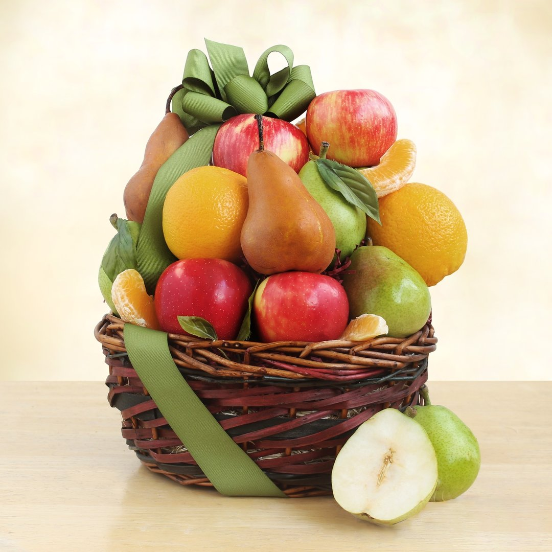 Classic Basket of Fruit Gift