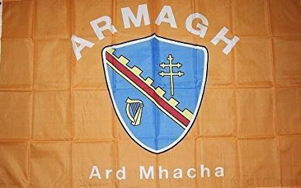 Armagh County Ireland Crest Flag