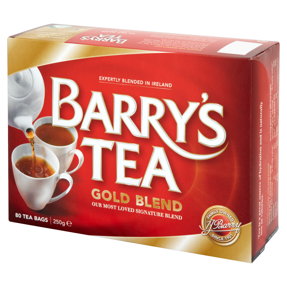 Barry's Gold Blend Tea 80s Single Box