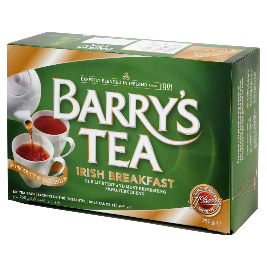 Barry's Breakfast Tea Blend 80s Single Box