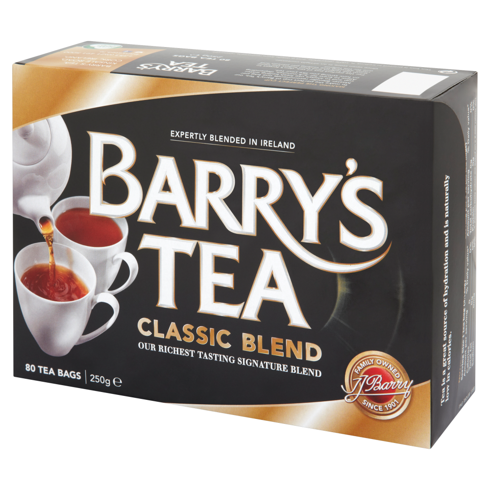 Barry's Classic Blend Tea 80s Single Box