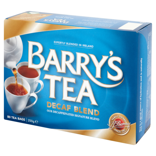Barry's DeCaf Blend Tea 80s Single Box