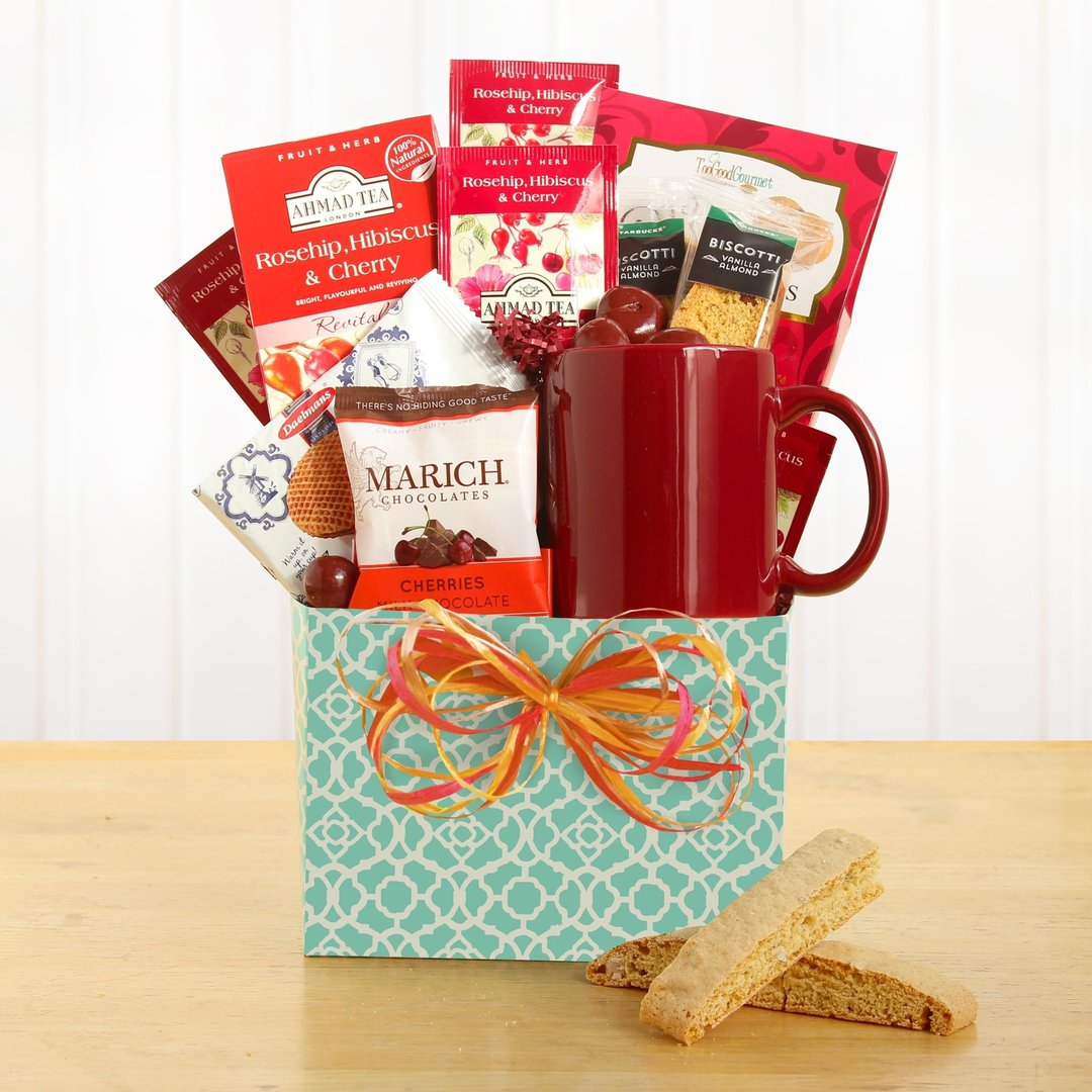 Tea & Treats Gift Basket