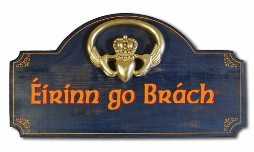 Eirinn go Brach - Irish Wall Plaque