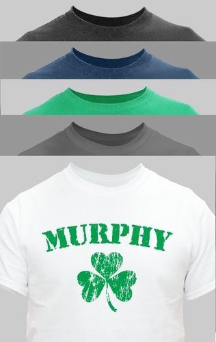 Personalized Shamrock T-Shirt
