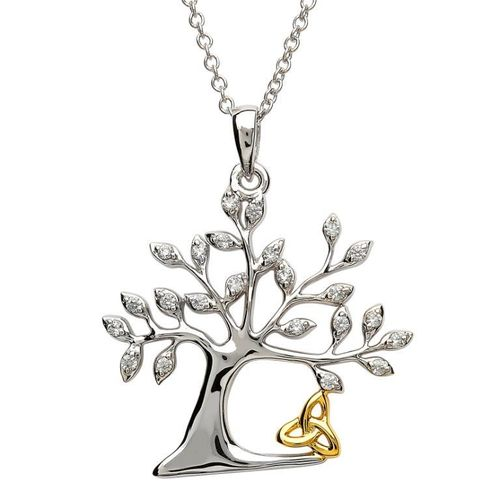 Tree Of Life Trinity Necklace