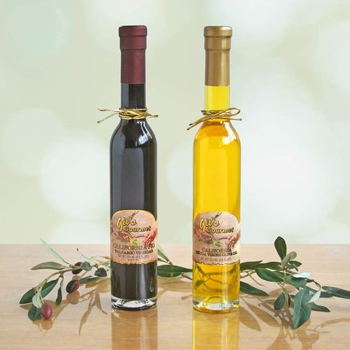 Gourmet Fig Balsamic Vinegar & Olive Oil Gift