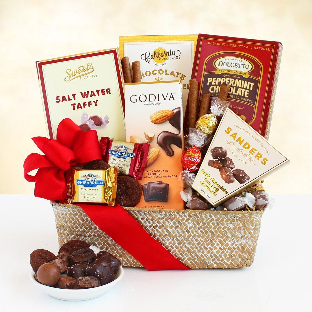 Chocolates & Such Gift Basket