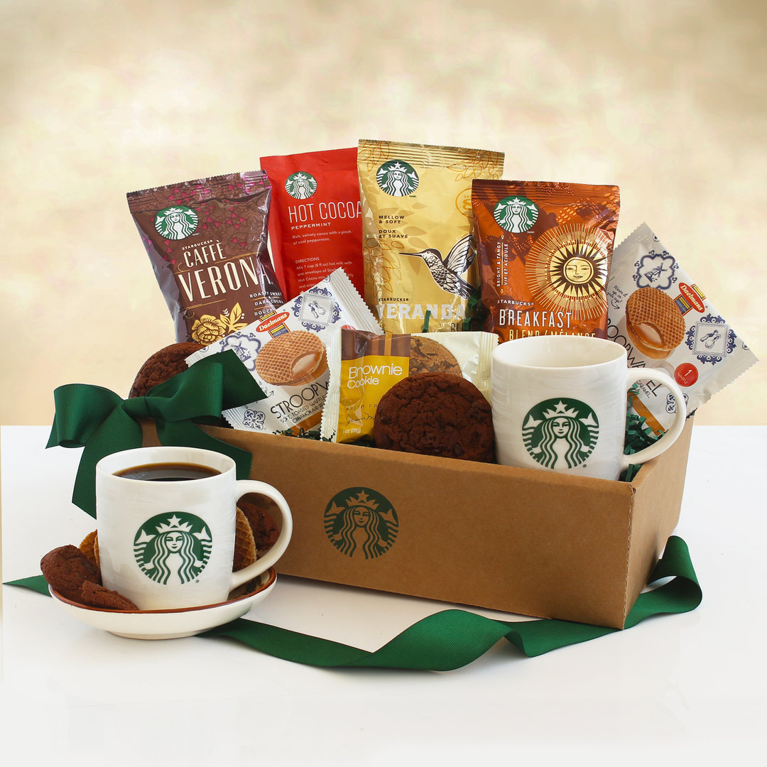 Coffee and Cocoa Starbucks Gift Box