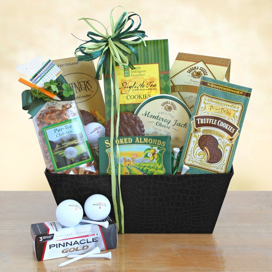 Golf Theme Gift Basket