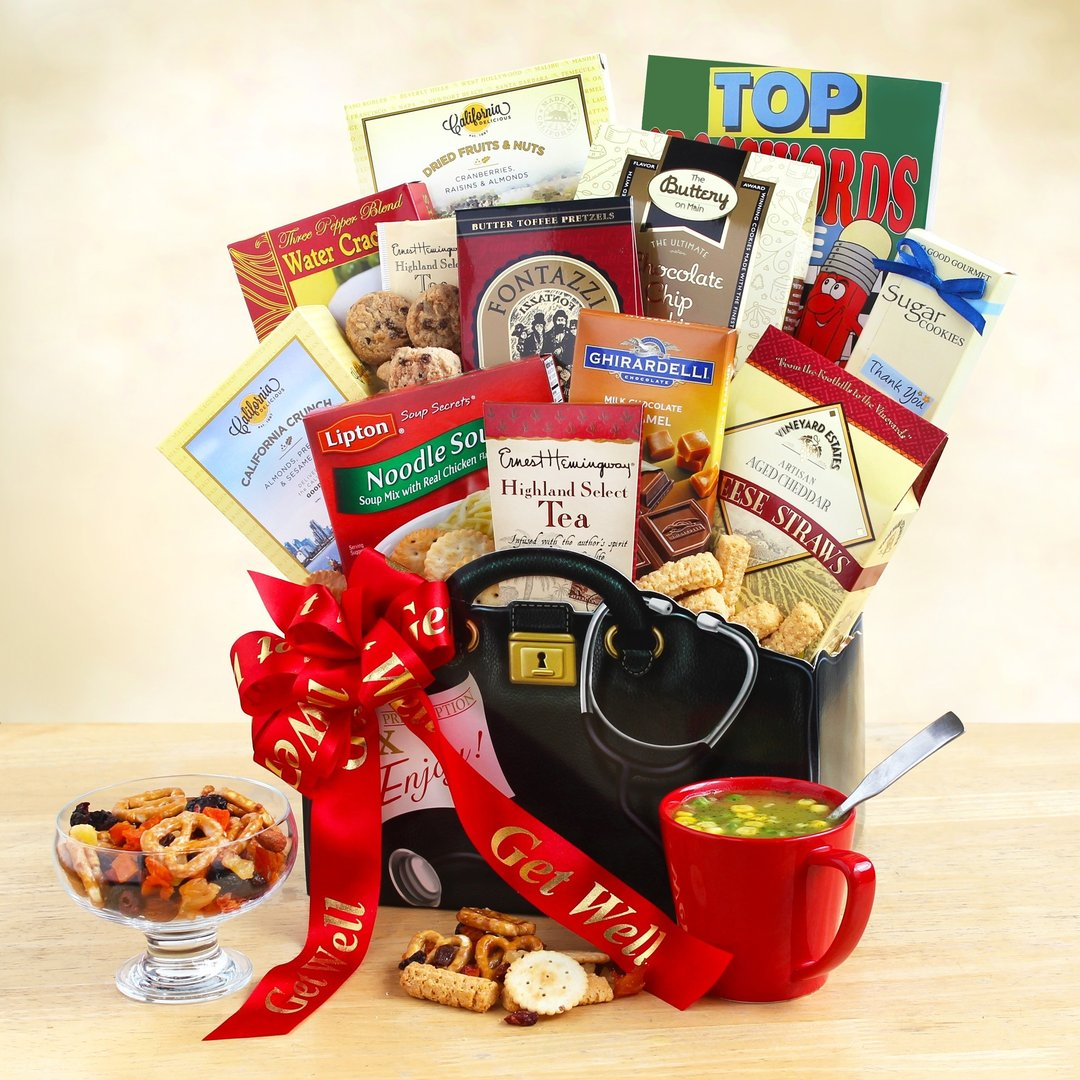 Get Well Gift Basket ~ Doctors Orders