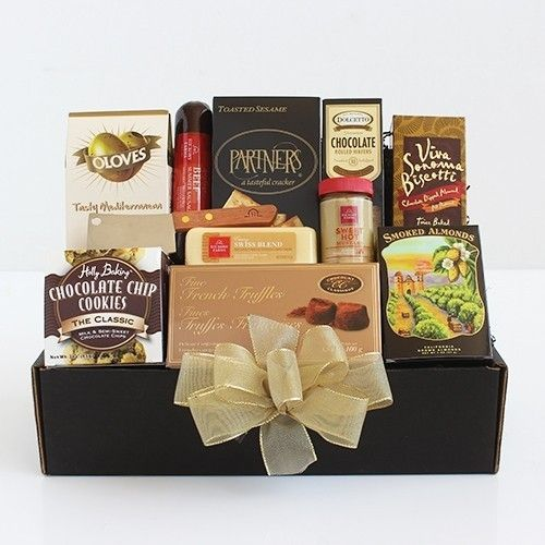 Meat and Cheese Gourmet Gift Basket ~ Housewarming