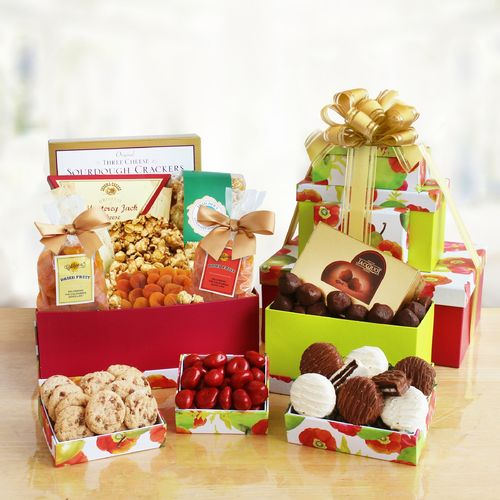 Sweet Gourmet Gift Tower