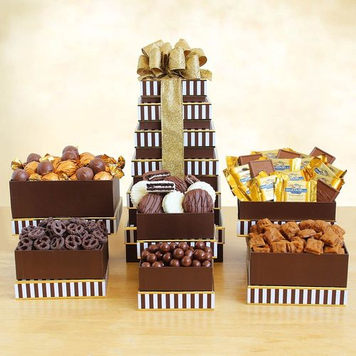 Delicious Chocolates Gift Tower