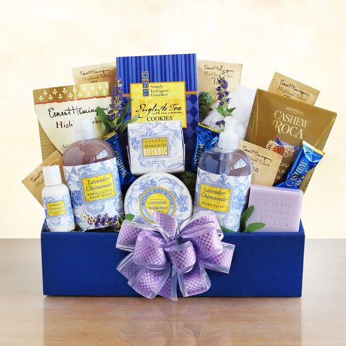 Lavender Spa Treatment ~ Relaxation Gift Basket