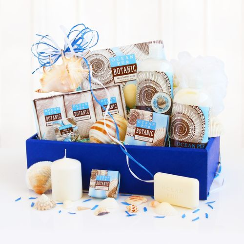 Seas The Day Spa Gift Basket