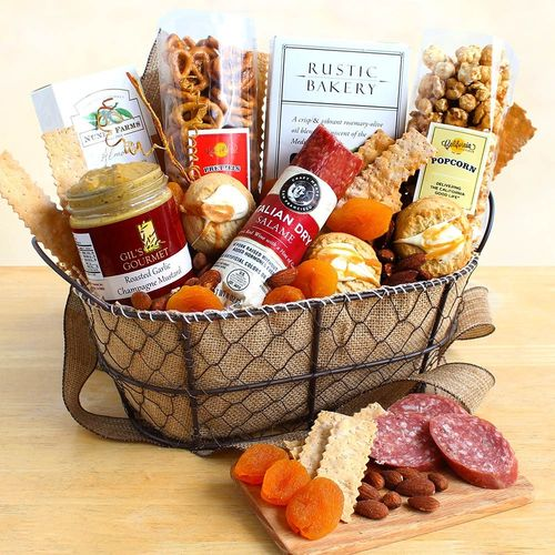 True Gourmet Food Gift Basket