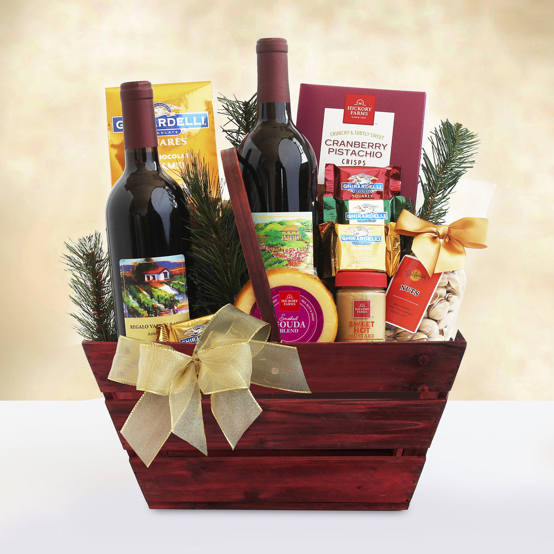 Napa Wine Gift Basket