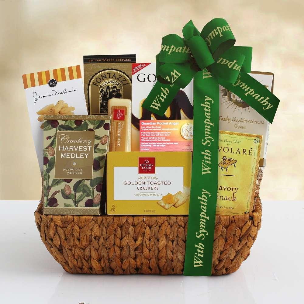 Comfort & Condolence Gift Basket