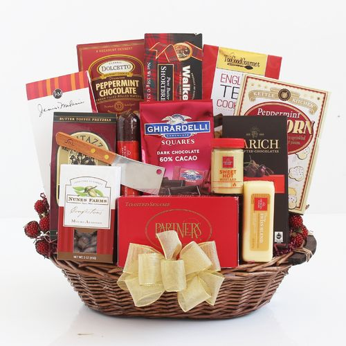 Large Gathering Gift Basket