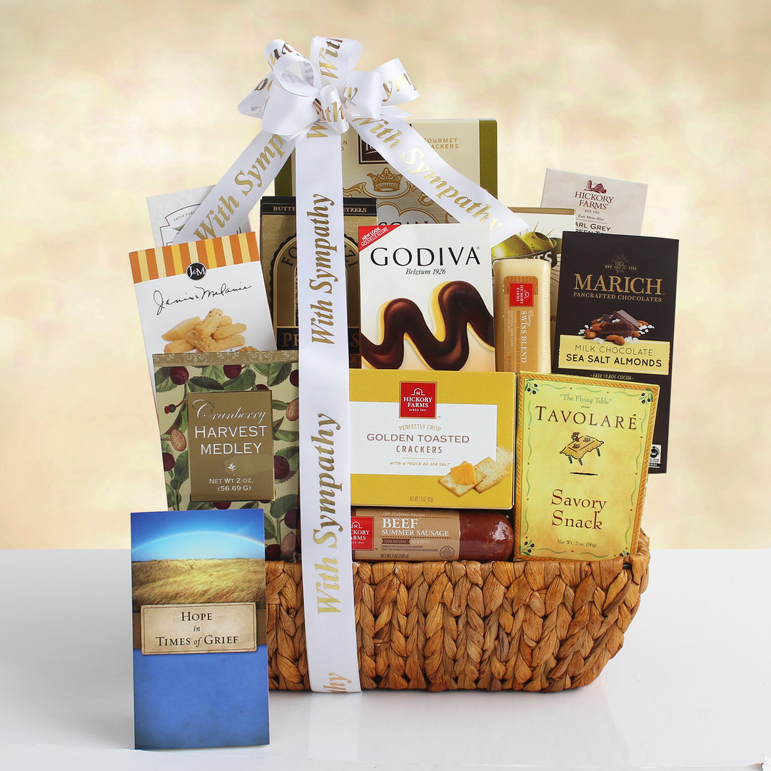 Expression of Sympathy Gift Basket