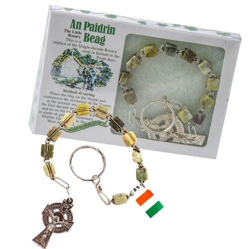 Connemara Single Decade Rosary ~ An Paidrin Beag