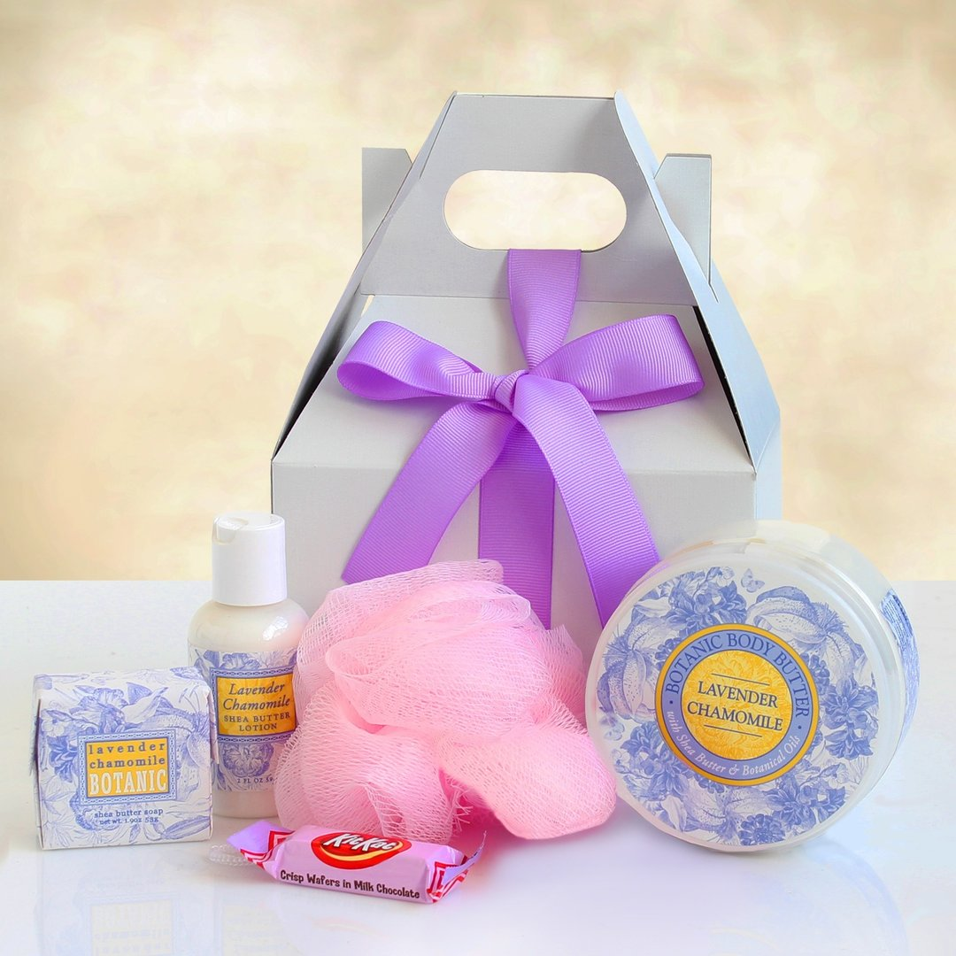 Lavender & Chamomile Mini Spa Gift Box