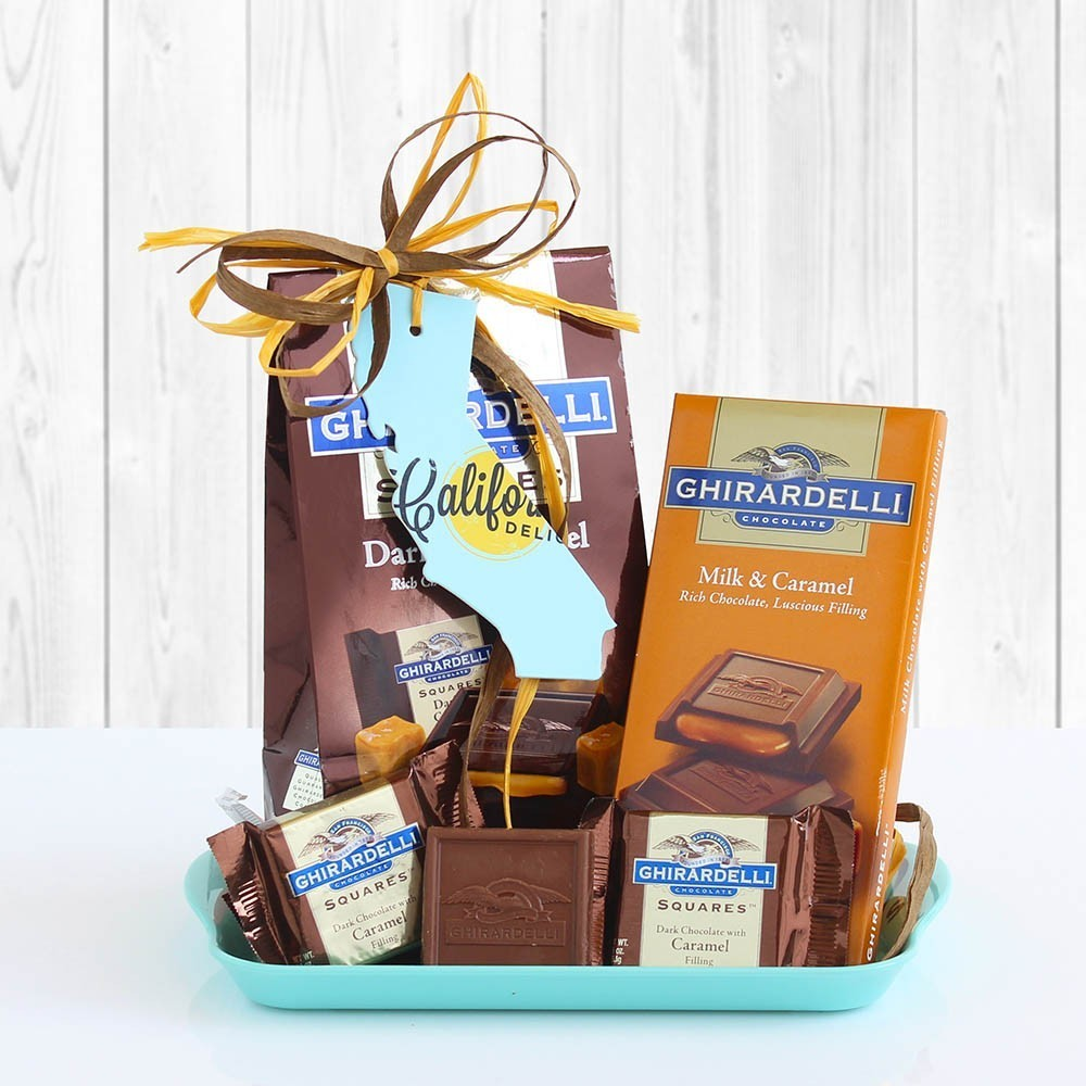 Ghirardelli Chocolate Tray Gift