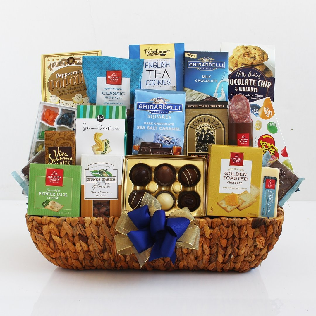 Office Delectable Gift Basket