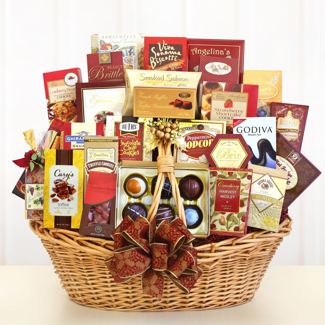 Spectacular Grand Gourmet Gift Basket