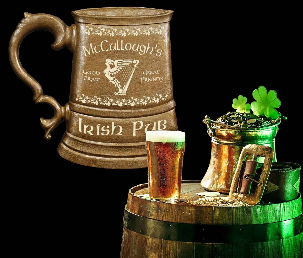 Personalized Irish Tankard Sign