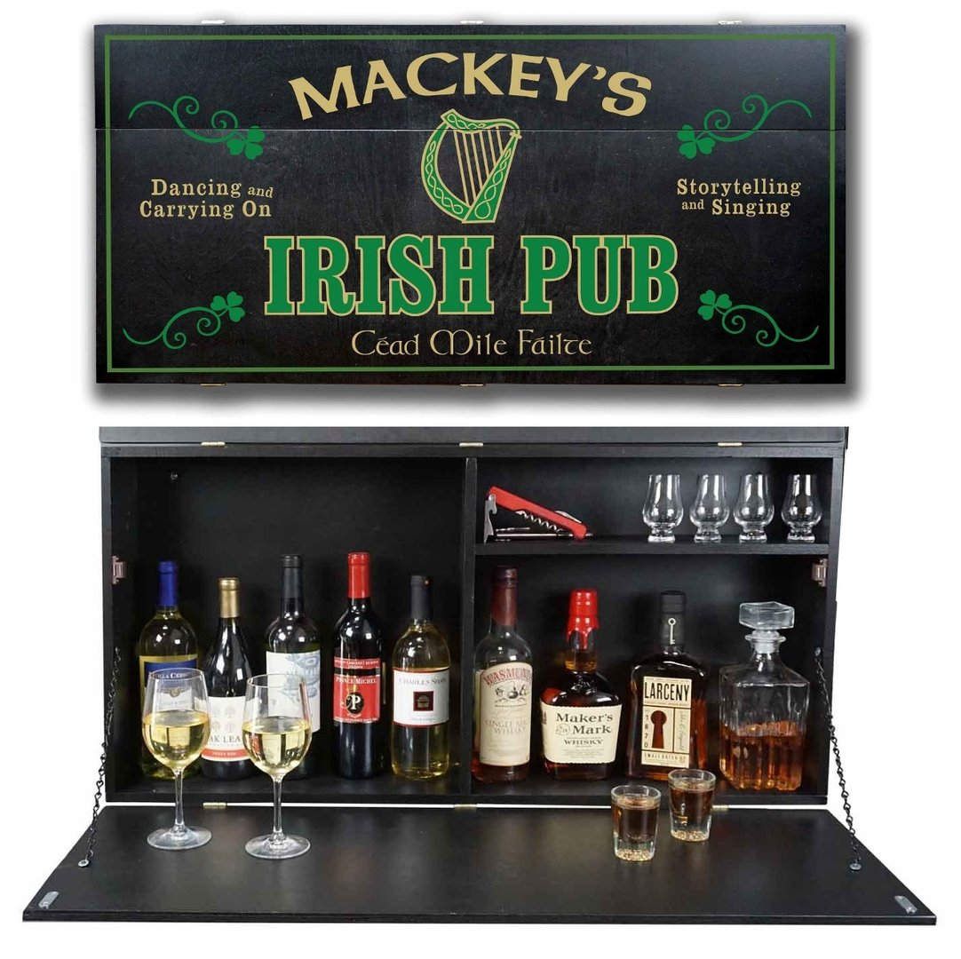Irish Pub Murphy Bar ~ Personalized Name