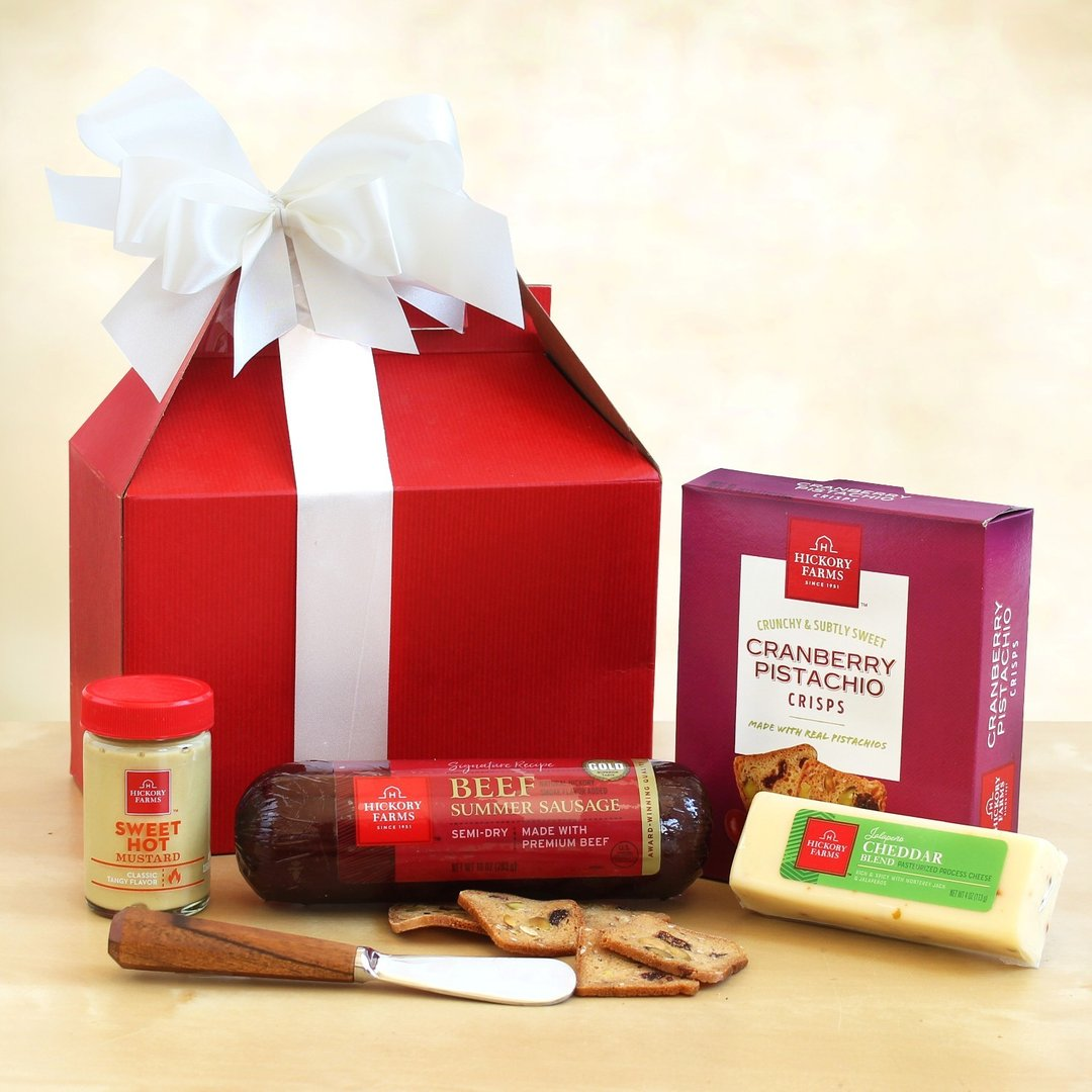 Hickory Farms Festive Holiday Sampler Gift